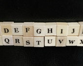 Magnetic Wooden Letters - Alphabet Fun
