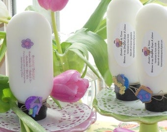 Country Garden Lotion. Natural and made with cocoa butter, shea butter, aloe vera & vitamin E