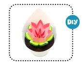 DIY Cactus Flower