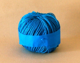 Blue Hemp Twine 1m Thick, and  Almost Full