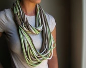 Custom T shirt Scarf Necklace