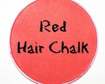 Red Hair Chalk
