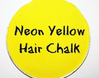 Neon Yellow Hair Chalk