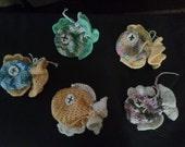 Childrens Fish Soap Saver Washcloth Toy Gift Easter Christmas Birthday Shower