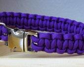 Custom Dog Collar, Paracord Small Dog Collar, Survival Collar