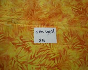 Cotton Batik Fabric