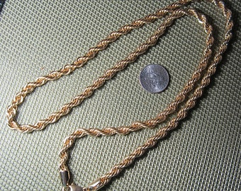 Vintage Large Rope Chain