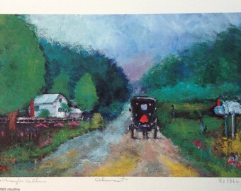 Almost - Limited Edition Print Featuring Amish