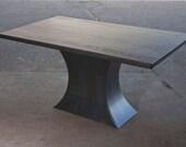 Concave metal base