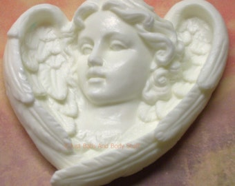 GUARDIAN ANGEL Soap Bar 100% Handcrafted Made in USA - You Pick Color & Scent
