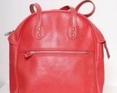 Vintage 60s Purse / Pink 60s handbag / 70s / Retro Train Case / Carry on / Retro  / Bags  Purses / overnight travel carry /TRAVEL BAG /