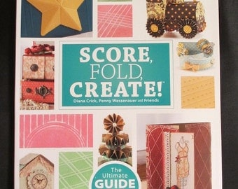NEW - Score, Fold, Create! Scor-Pal Project Book