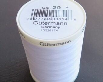 GUTERMANN-Sew-All Thread - 1094yd/1000m spool of 100% polyester thread.