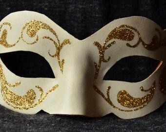 11. Venetian Mask leather