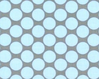 FULL MOON DOT in Slate - Amy Butler fabric - Lotus - By the Yard