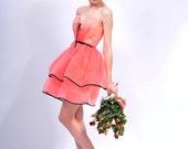 Gina 3 Organza Dress