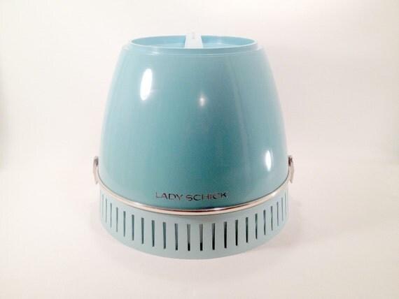Lady Schick Portable Home Salon Hair Dryer Capri Consolette
