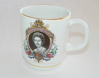 SALE !     Queen Elizabeth Silver Jubilee Cup