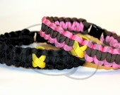 Rememberance Bone Cancer Endometriosis Yellow Awareness Ribbon 550 Paracord Survival Strap Bracelet Anklet with Buckle