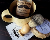 Shaving Mug Set, Grooming Kit, Boar Brush, Aftershave, Cologne Handmade Soap
