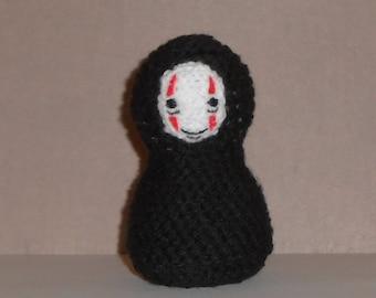 No Face Amigurumi Doll