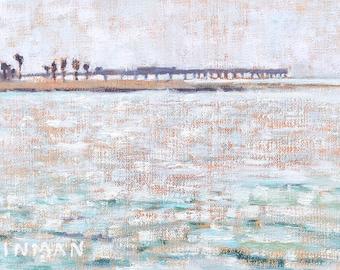 Ocean Beach Painting, San Diego