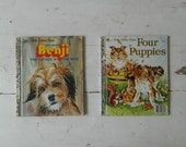 Little Golden Book Benji Fastest Dog in the West and Four Puppies