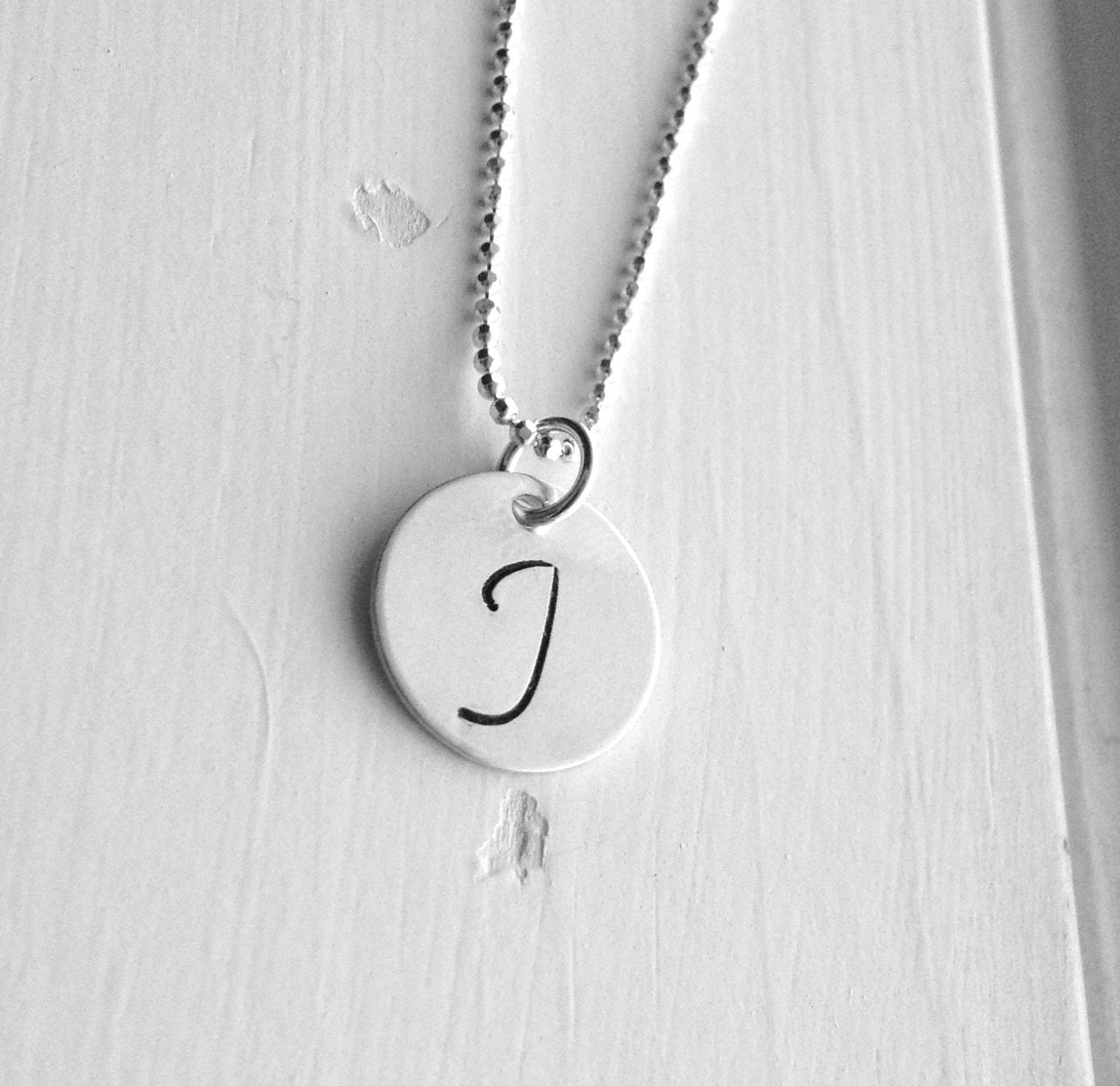letter a initial necklace initial necklace all letters available letter j necklace 17416 | il fullxfull.598059517 ltt0