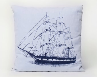 Navy Ship Pillow