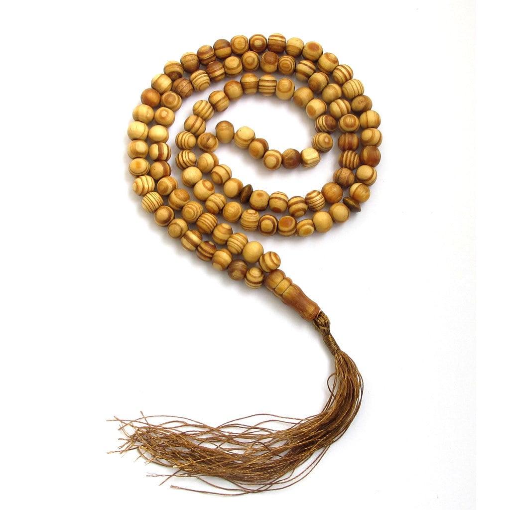 8mm muslim islam 99 beads wood prayer beads zz156