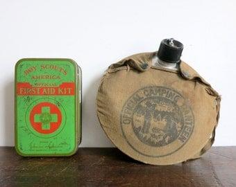 Vintage Boyscout Supplies