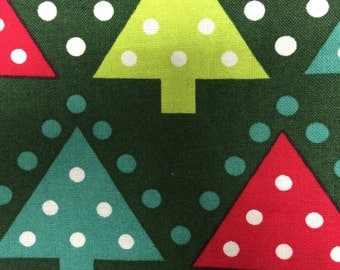 Christmas Trees - fabric - quilting cotton - 17 inches