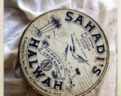Vintage Middle Eastern Sahadi's Halwah Tin