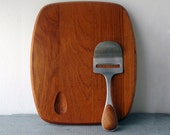 Vivianna Torun Teak Board & Knife- Reserved for Walsh