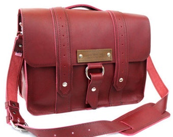 "15"" Burgundy-Red Sierra Voyager Laptop Bag - 15-V-RD-LAP"