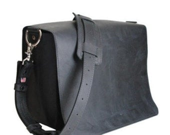 "14"" Black Newtown Mission Laptop Bag"