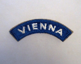 Vienna Patch- US Forces Austria