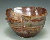 Frayed Sculptural Bowl