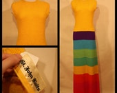 Reserved for lyda- do not buy AMAZING 1960s colorblock St John knit maxi dress