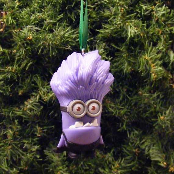 Evil Christmas Tree: Despicable Me 2 Evil Minion Christmas Ornament
