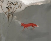 """Fox print 'After the storm' 8"""" x 10"""""""