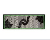 Cat Tails Table Runner/Wall Hanging Quilt Pattern