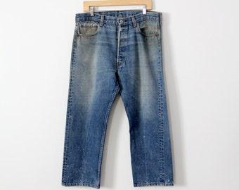 FREE SHIP  Levis 517 jeans, vintage 1980s Levi's denim, waist 36