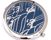 Pacific Chiyogami. Compact Mirror