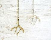 Antler Necklace - SALE