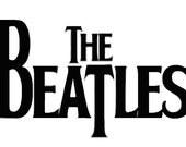 The Beatles Vinyl Decal T09