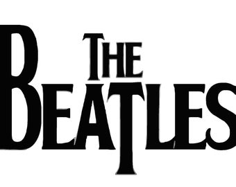 The Beatles Vinyl Decal T09