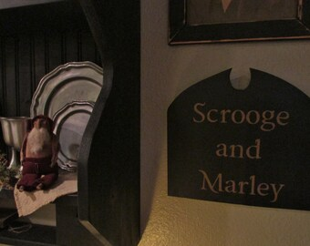 Scrooge and Marley Tavern sign