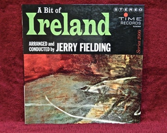 A BIT of IRELAND - Time Records Series 2000- 1980s Vintage Vinyl Gatefold Record Album