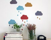 clouds - wall decals